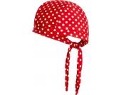 Playshoes UV-Schutz Kopftuch rot mit Punkten